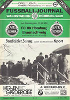 II. BL 85/86 FC Homburg - Eintracht Braunschweig, 08.03.1986