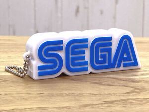 Brand New Unused Sega 60th Anniversary Music Sound Logo Keychain Sonic Saturn