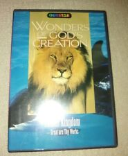 Queststar Wonders of Gods Creation animal Kingdom DVD 2005