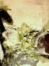 Zao Wou-ki - Lithographie originale-1971-Atelier Mourlot- San Lazzaro XXe siècle