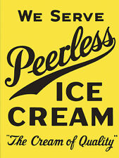 Peerless Ice Cream Ad High Quality Metal Magnet 3 x 4 inches 9337