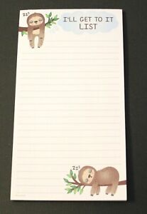 1 x Reminder Shopping Things To Do List Note Pad Magnetic Fridge Magnet