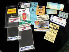 NASCAR Dixie 500 Mor State 400 plus others auto racing  1975-2001 collectibles