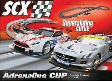 SCX C3 Adrenaline Cup 1/32 slot car set  race A10130X500