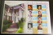 Israel 2008 Elvis Presley Stamp Sheet