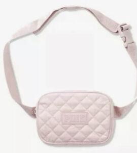 NWT Victorias Secret PINK Quilted Belt Bag Purse