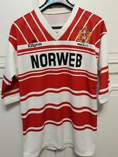 Vintage Wigan RLFC Extra Large Mens Rugby League Shirt XL