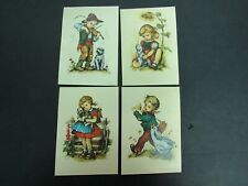 Set of 4 Unused Hilde - Western Germany - Kruger Postcards