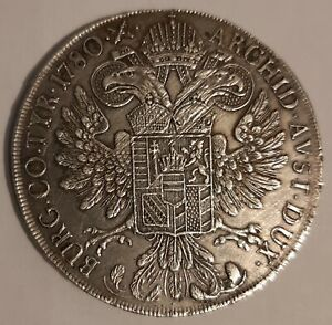 AUSTRIA / 1780 S.F. Silver Thaler Maria Theresa - Milan Mint !!