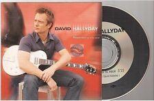 DAVID HALLYDAY repenses y si tu veux CD PROMO