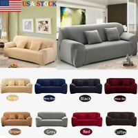 Sofa Covers 1/2/3/4 Seater Stretch Chair Couch Cover Elastic Slipcover Protector