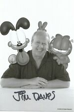 4x6 hand-signed photo Jim Davis! Garfield! Autograph!