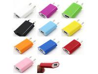 offre 3 acheté=1 gratuit adaptateur secteur usb pour iphone/samsung/sony