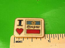 I LOVE MOPAR  - hat pin , lapel pin , tie tac , hatpin GIFT BOXED