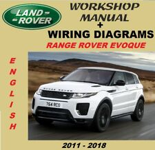 Manual De Taller Y Diagramas Electricos Land Rover Range Rover Evoque 2011-2018