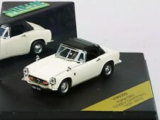 WOW EXTREMELY RARE Honda S800 Soft Top 70HP 1966 Ivory White 1:43 Vitesse-DISM