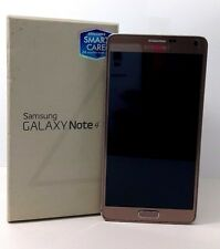 "USED - Samsung Galaxy Note 4 SM-N910H Gold (FACTORY UNLOCKED) 5.7"" QHD, 32GB"