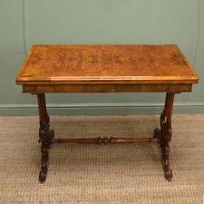 Walnut Art Deco Original Victorian Tables (1837-1901)