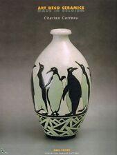 Art Deco Ceramics Made in Belgium, Catteau Boch Keramis