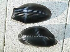 Spiegelkappen Spiegel Kappen Carbon Look Folien Set Hochglanz passend für VW