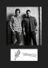 SUPERNATURAL #1 A5 Signed Mounted Photo Print (Reprint) - FREE DELIVERY