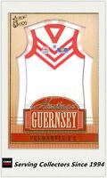 2004 Select AFL Ovation Card Series Heritage Guernsey Picture Card HJ10Fremantle