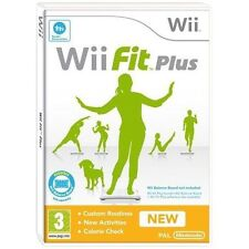Wii Fit Plus NEW SEALED for Nintendo Wii / U | PAL Game | FAST POST!
