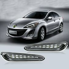 Fit For 2010-2013 Mazda 3 Fog light Daytime Running Light DRL LED Day Light 2PCS