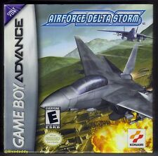 GBA Airforce Delta Storm (2002) Brand New & Factory Sealed