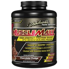 NEW MUSCLEMAXX HIGH ENERGY MUSCLE BUILDING PROTEIN Chocolate BODY SUPPLEMENT