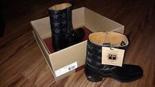 Frye Ladies Cowboy Boots New In Box Size 8 Black