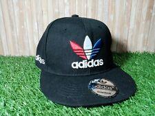 Adidas Originals Trefoil Snapback Cap One Size Flat Peak