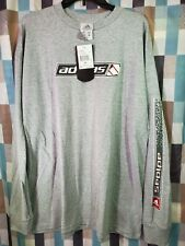 Vintage 90s Adidas Long Sleeve El Diablo Grey Brand New with Tags Size XL