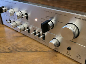 LUXMAN SQ 700 X  RARE  MADE IN JAPAN  Stereo Integrated Amplifier VINTAGE SQ700X