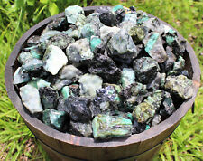 1000 Carat Lot Rough Unsearched Natural Emerald Minerals, Raw Gemstone 200 Grams