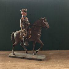 Elastolin: A Rare 10cm Scale Mounted Policeman, c1917. Pre War