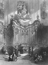 Germany, MAYENCE MAINZ SAINT ST MARTIN'S CATHEDRAL CHURCH ~ 1865 Print Engraving