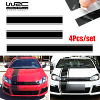 Universal Car Racing Stripe Vinyl Sticker Decal For Cover Roof Trunk Side Doors