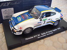 PORSCHE FLY ROTHMANS 911 SC SLOT CAR FERNANDEZ SALA RALLY EL CORTE INGLES 1982