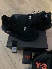 NEW Adidas Y-3 Saikou BC0950 Trainers Black Men Size UK 10 Brand New Momo Boost