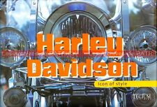 HARLEY DAVIDSON «  Icon of Style » : Livre Moto Bikers Customs