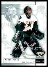 2002-03 Upper Deck Mask Collection Ron Tugnutt Marty Turco #26
