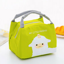 Unicorn Women Girls Kids Portable Insulated Lunch Bag Box Picnic Tote Cooler New
