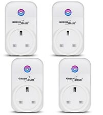 2x Wireless WiFi Smart Plug Remote Control Timer Alexa Echo Google Home UK Stock