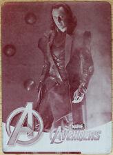 2012 Upper Deck Avengers Assemble - Magenta Priting Plate 1/1 #97 Loki