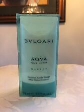 Bvlgari Aqva Aqua Marine Pour Homme Men After Shave Emulsion 2.5oz