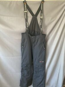 SPYDER Men's Entrant GII Thinsulate Ski Pants Suspenders Dynatec Schoeller Large