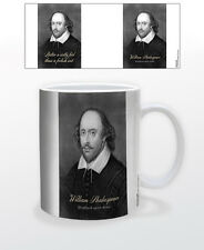 WILLIAM SHAKESPEARE- WITTY QU 11 OZ COFFEE MUG QUOTE CLEVER LOVE INTELLIGENT FUN