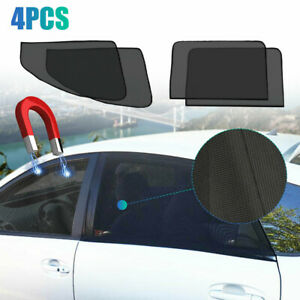 Car Accessories Magnetic Side Window Sun Shade Cover Mesh Shield UV Protection
