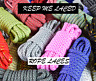 PREMIUM ROPE STYLE SHOELACES LACES FOR NIKE ADIDAS ASICS BUY 1 GET 1 50% OFF